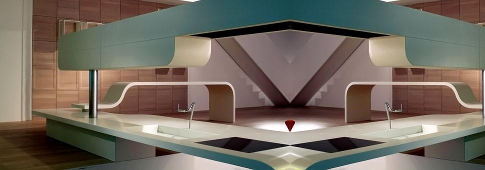 Corian - DuPontОригинальный твердый материал «Corian» был изобретен компанией «DuPont» в 1966 году. Во всем мире его широко используют архитекторы и дизайнеры для создания стильного жилого пространства и общественных интерьеров.Компания «DuPont» стремилась создать материал, который служил бы идеальной поверхностью в домашних условиях...